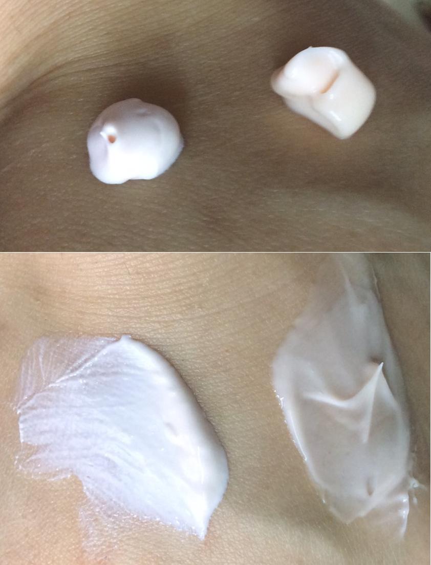 デイクリームとナイトクリームの比較