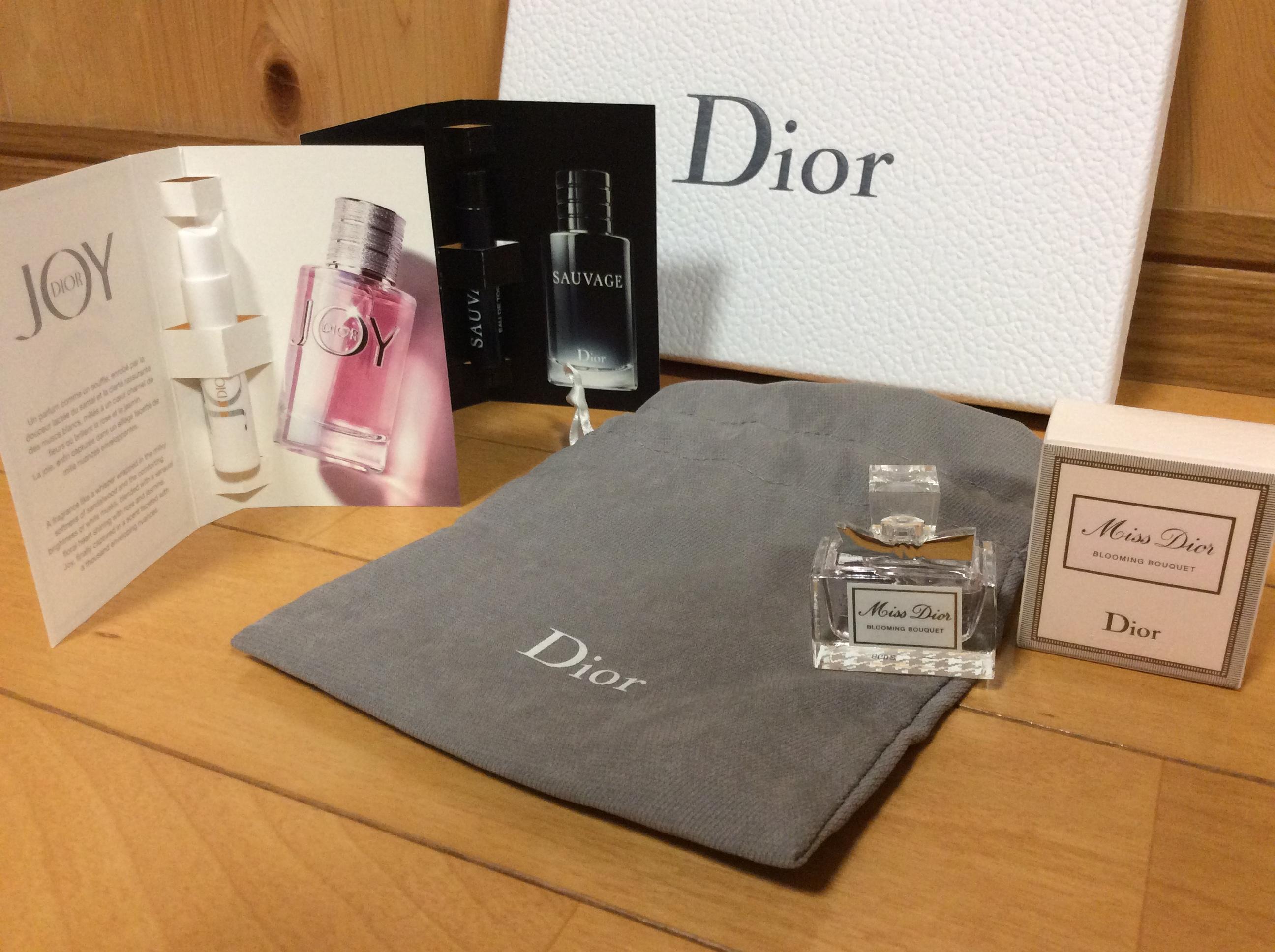 Dior ノベルティ 香水