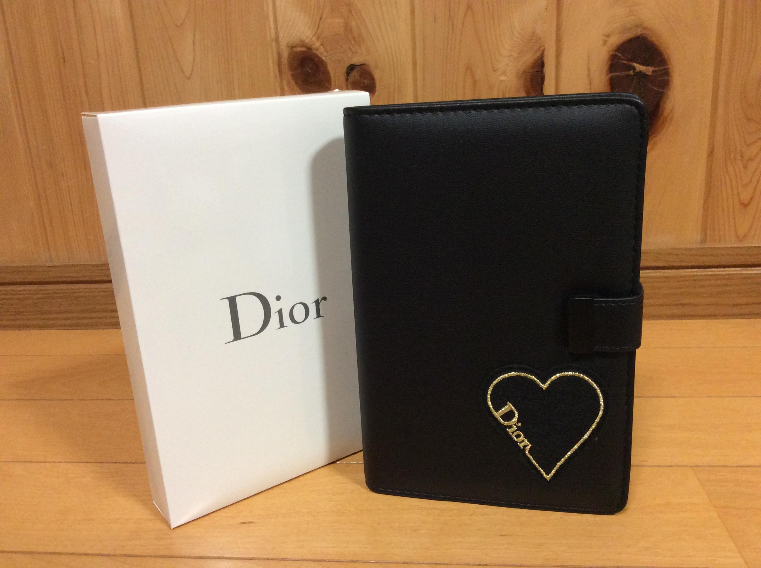 Dior ノベルティ ノート