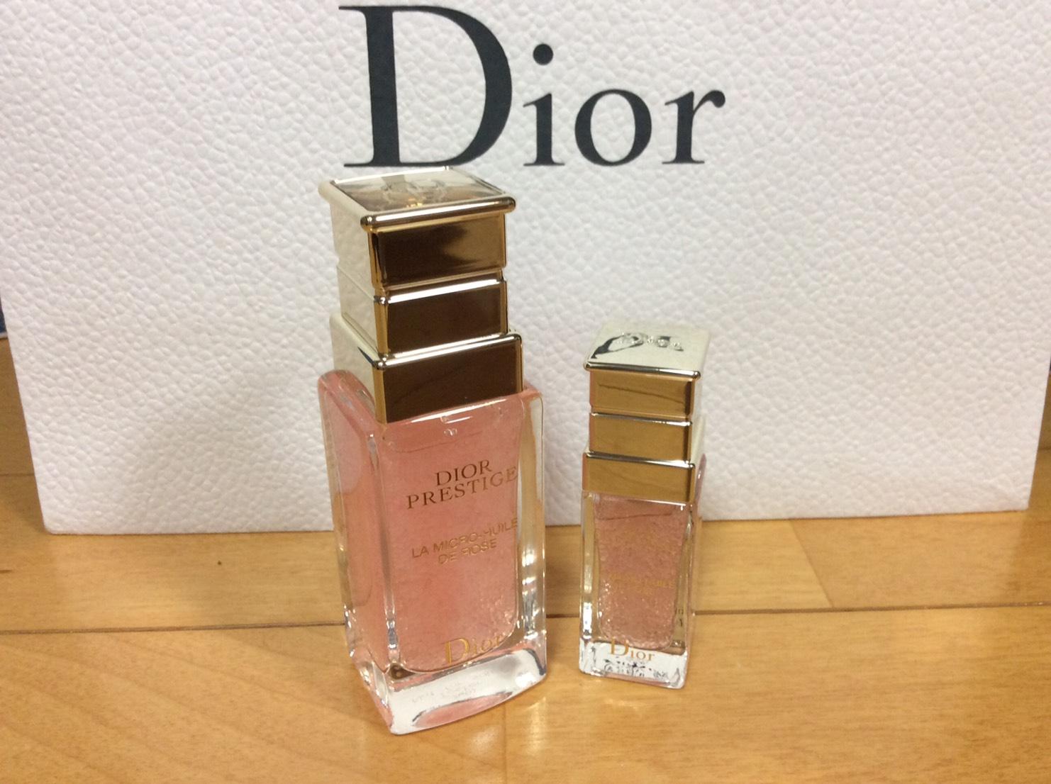 Dior プレステージ ユイルドローズ ミニチュア