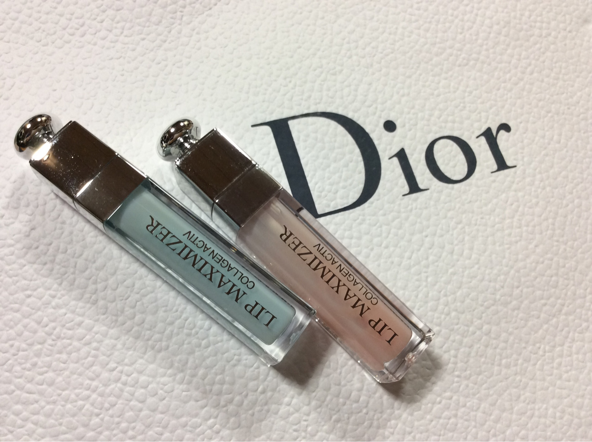 Dior リップマキシマイザー ピンク&プールブルー