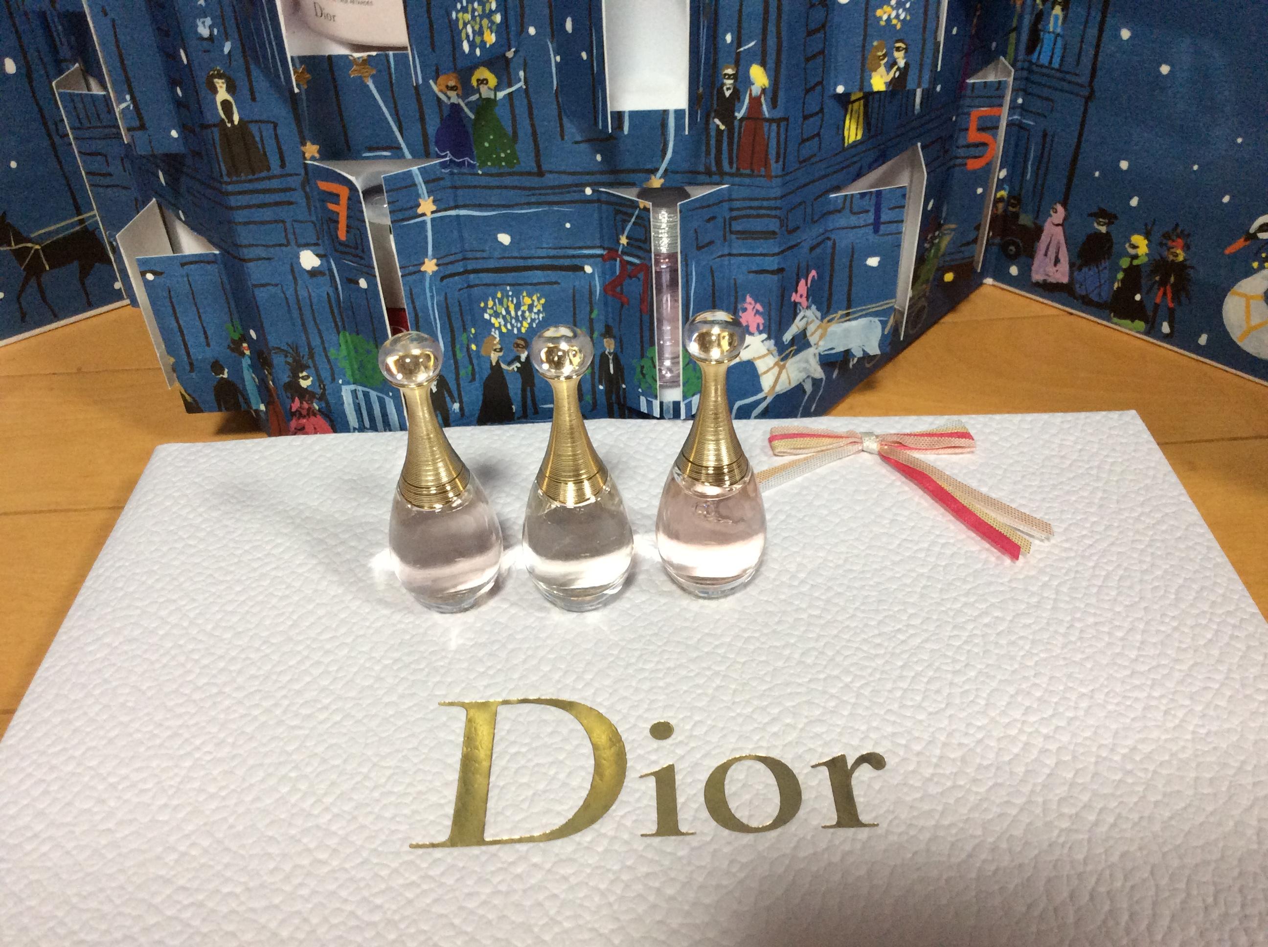 Dior アドベントカレンダー 2018 24日目 ジャドールオードゥパルファン オールミエール インジョイ