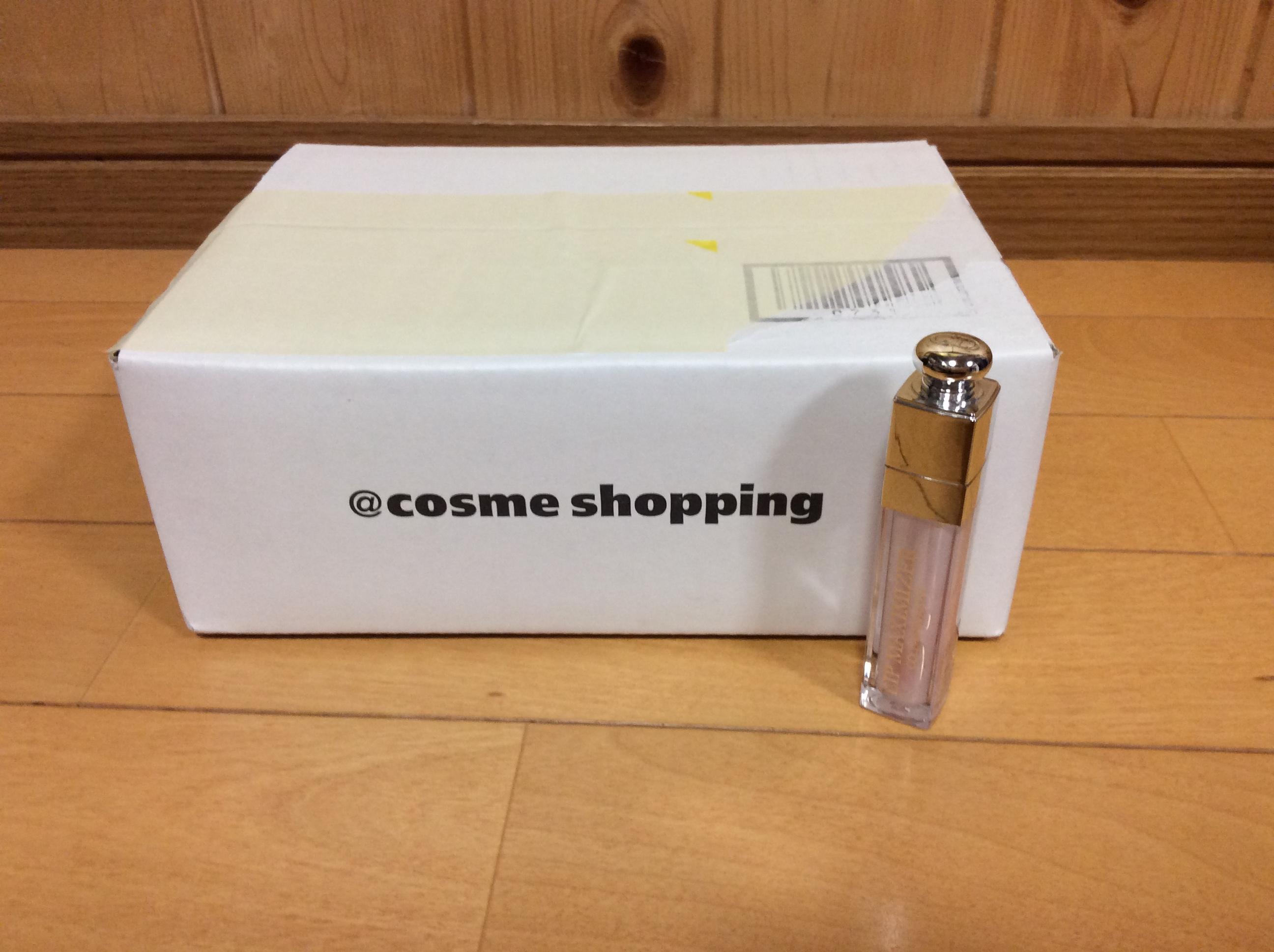 アットコスメショッピング @cosme shopping 箱 配送