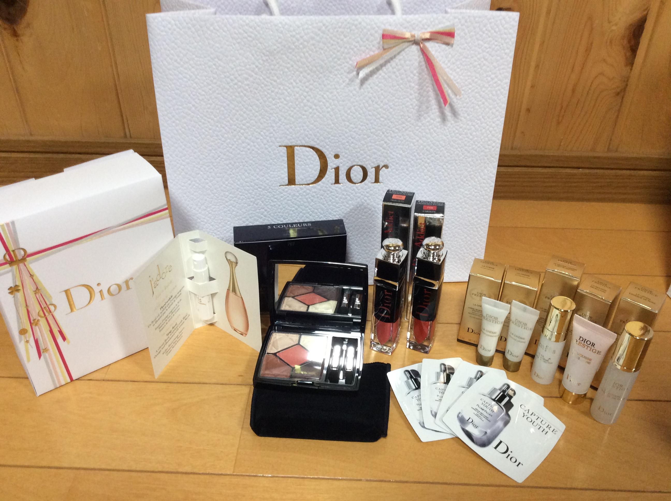Dior サンククルール ラッカープランプ プレステージ など 購入品