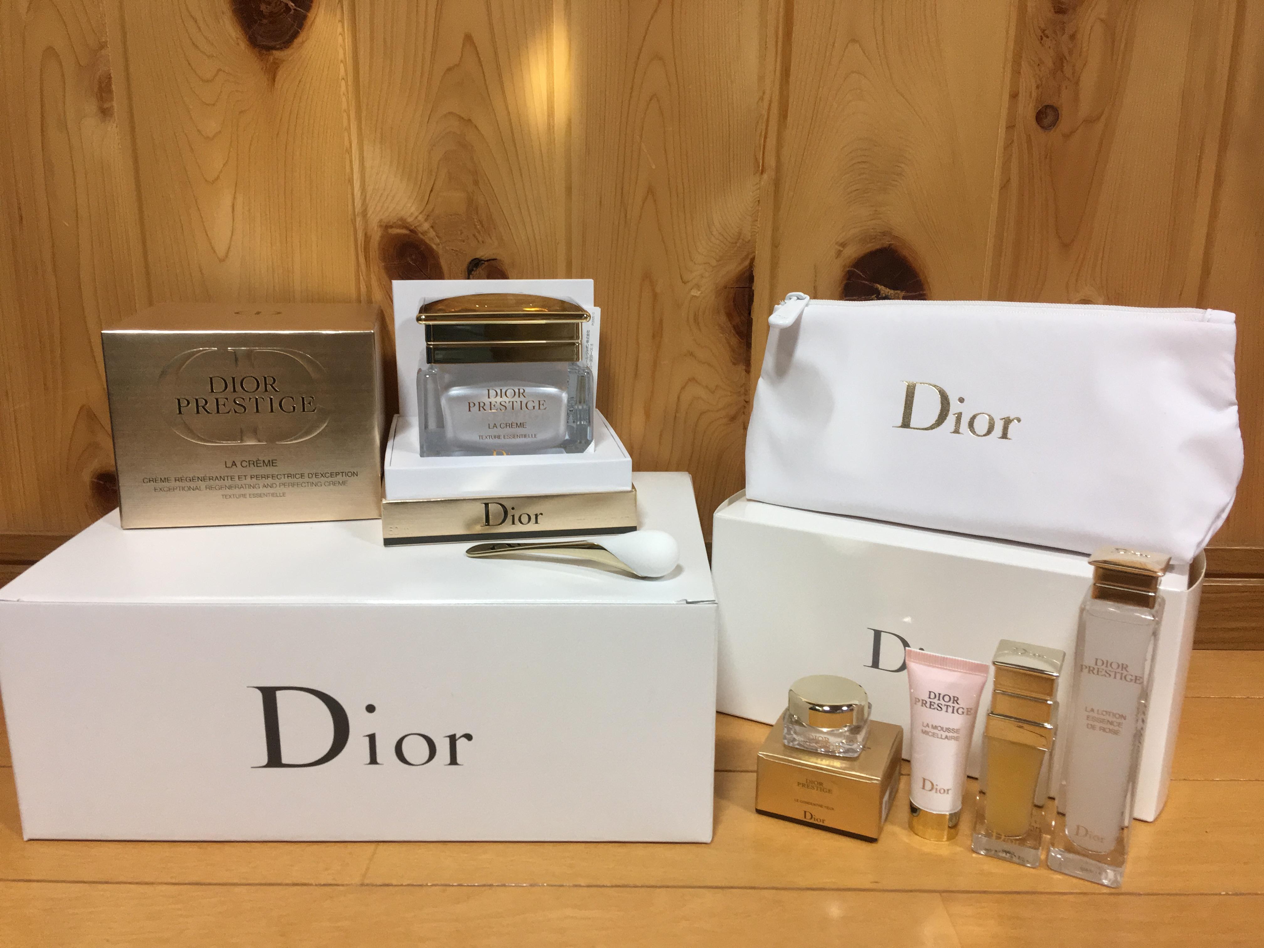 Dior プレステージ クリスマスコフレ ディオール 2018