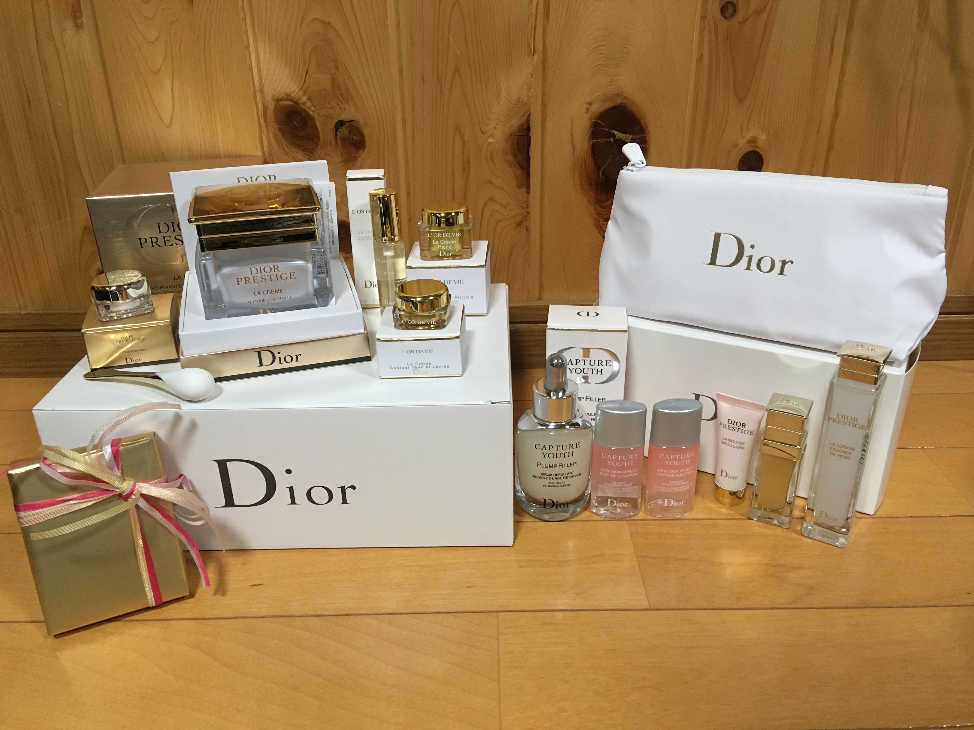 best service e1e7e ad5e8 Dior】電話注文でプレステージのクリスマスコフレ買ったよ ...