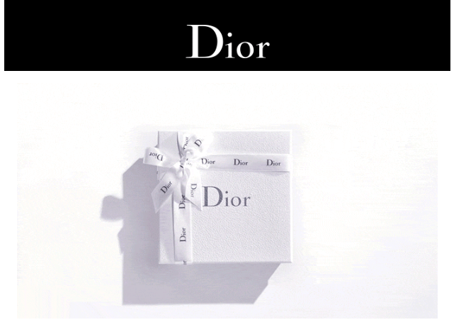 Dior ディオール バースデーギフト ゴールド会員 ダイヤモンド会員