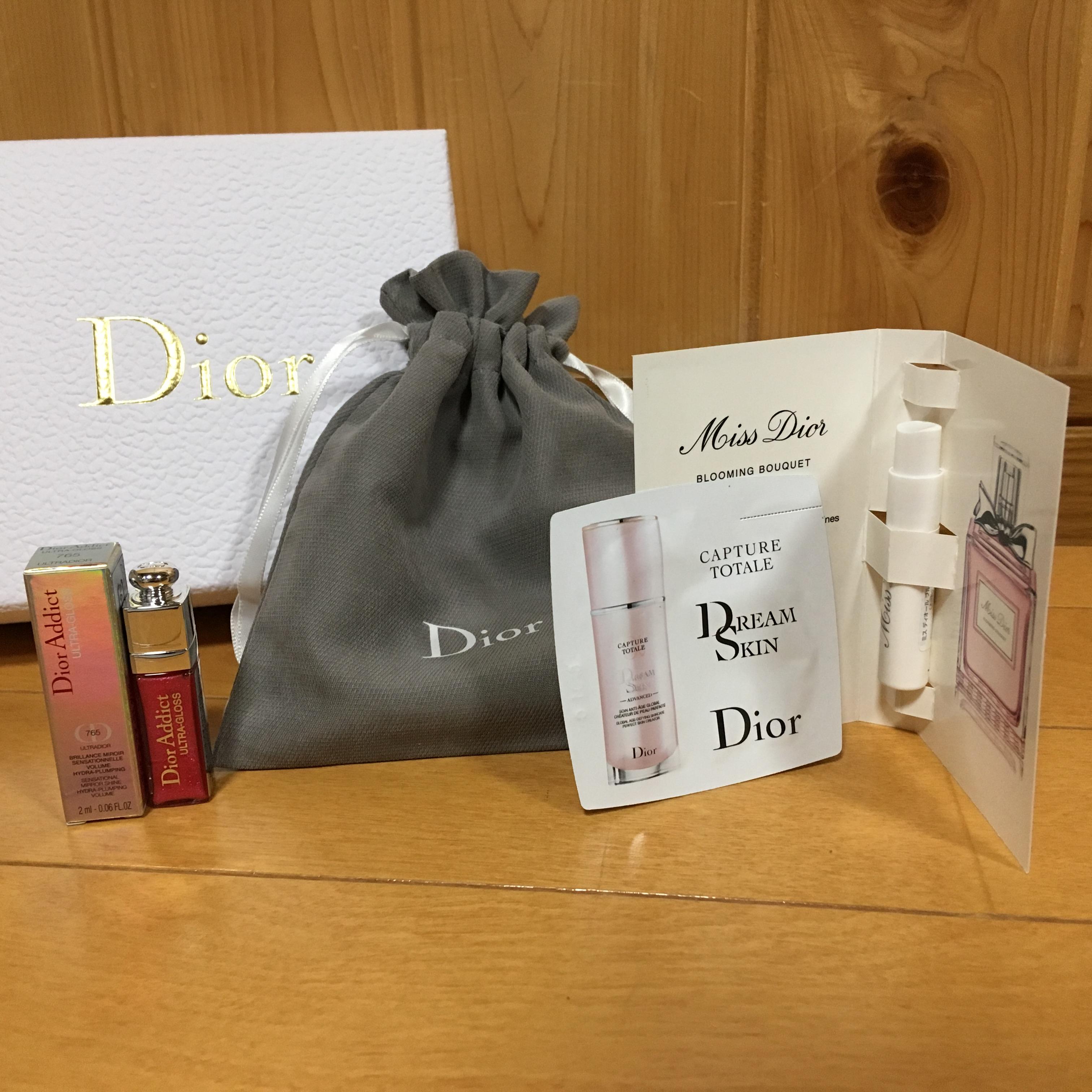 Dior オンラインブティック サンプル