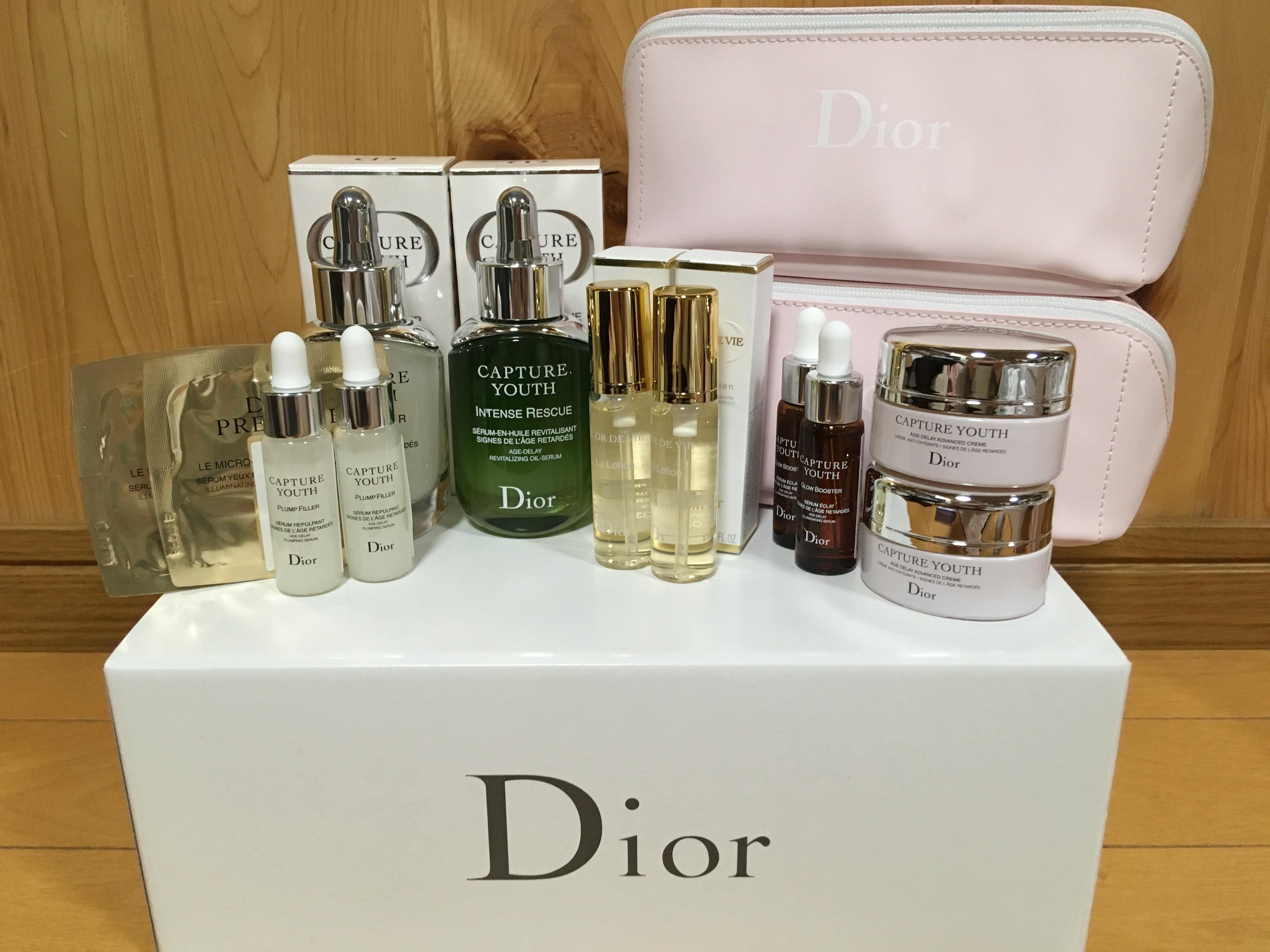 Dior ディオール カプチュールユース プランプフィラー インテンスRオイル オファー コフレ ブログ