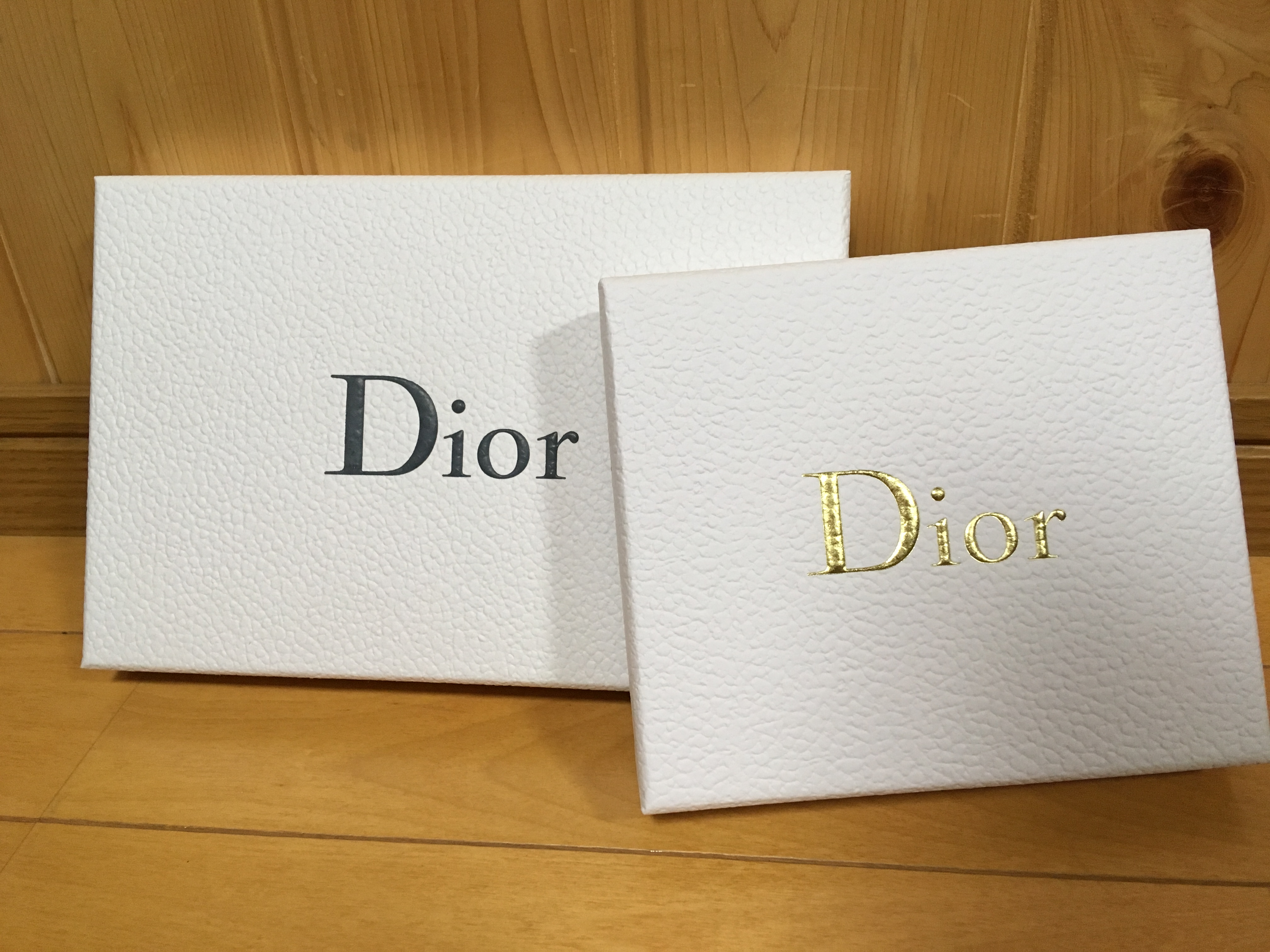 Dior ディオール オンラインブティック ギフトボックス 2018 クリスマス