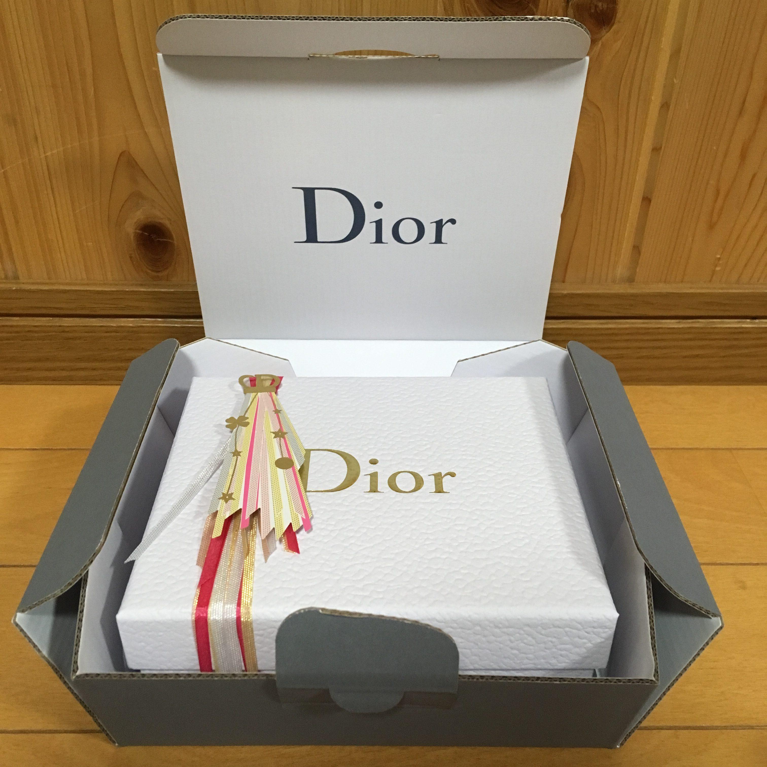 Dior ディオール オンラインブティック ギフト クリスマス ラッピング