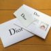 【Dior】カウンターでの登録がある人はオンラインブティック利用時に注意が必要!